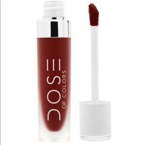 Dose of Colors Charm Liquid Matte Lipstick NIB
